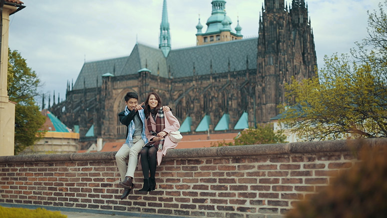 Prague Pre wedding shooting from Taiwan
