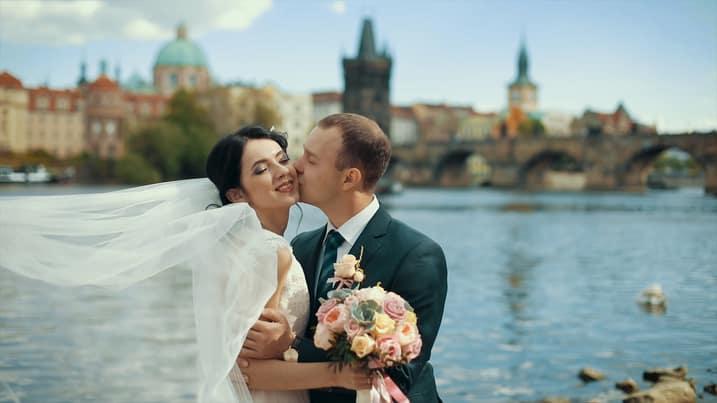 Wedding highlights video in Czech Republic