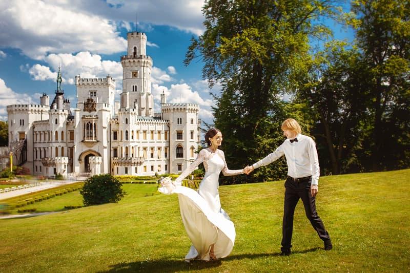 Wedding in Castles, Czech Republic