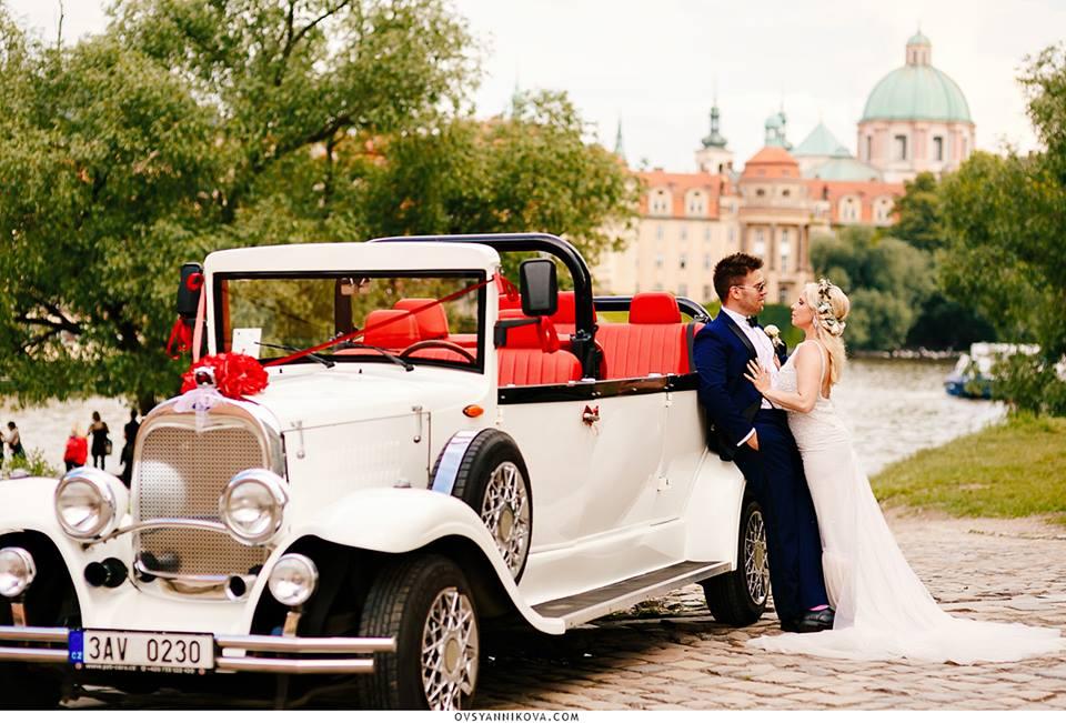 American wedding in Prague