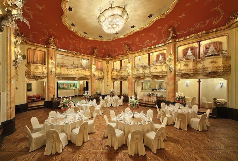 Grand Bohemia hotel Ballroom