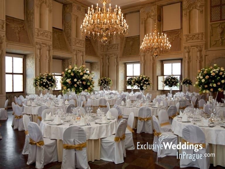 Lobkowicz palace for weddings