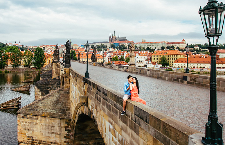 Pre-wedding in Prague