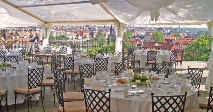 Villa Richter Restaurant in Prague